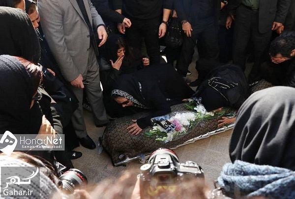 435593 Gahar ir عکسهای مراسم خاکسپاری پیام صابری همسر زیبا بروفه