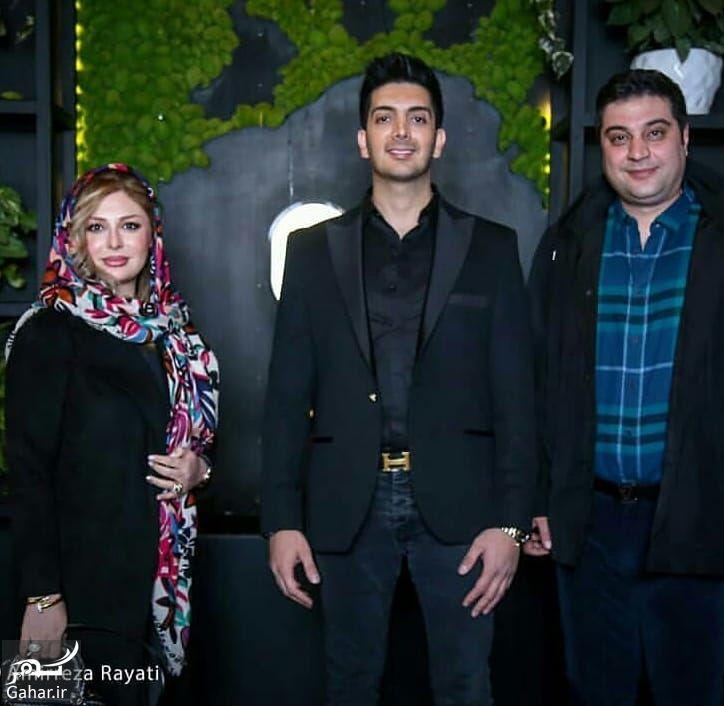 859367 Gahar ir بازیگران در افتتاحیه رستوران اختصاصی فرزاد فرزین (5 عکس)