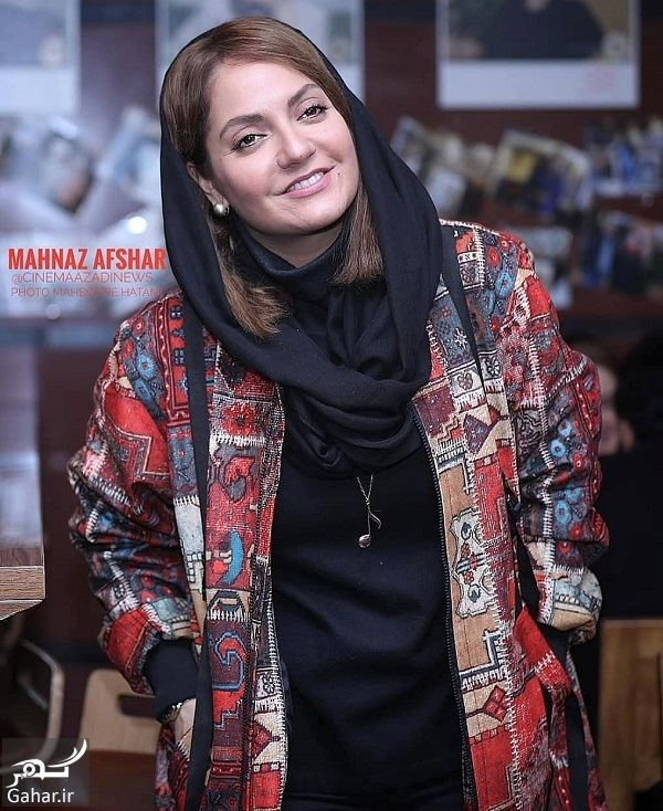 عکسهای مهناز افشار در جشنواره فیلم فجر ۹۷ ( اکران فیلم آشفتگی ), جدید 1400 -گهر