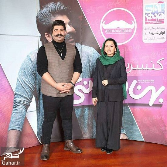 545266 Gahar ir عکسهای بازیگران زن در کنسرت بهنام بانی با تیپ زمستانی
