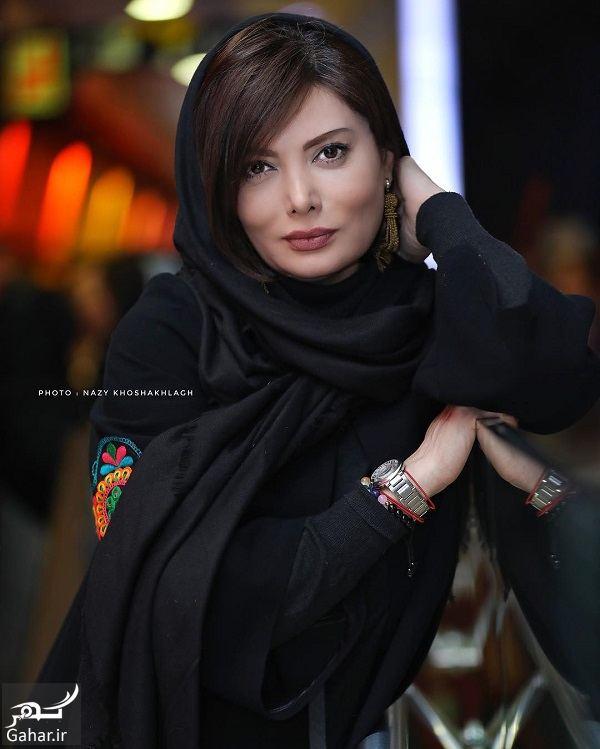 عکسهای جدید و متفاوت نگار فروزنده در اکران رقص روی شیشه, جدید 1400 -گهر