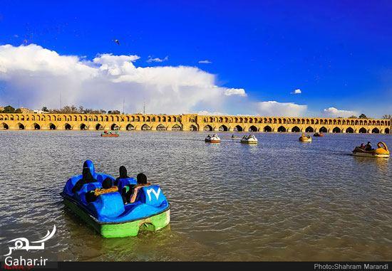 238833 Gahar ir عکسهای زیبا از شور و شوق مردم اصفهان کنار زاینده رود بهمن 97
