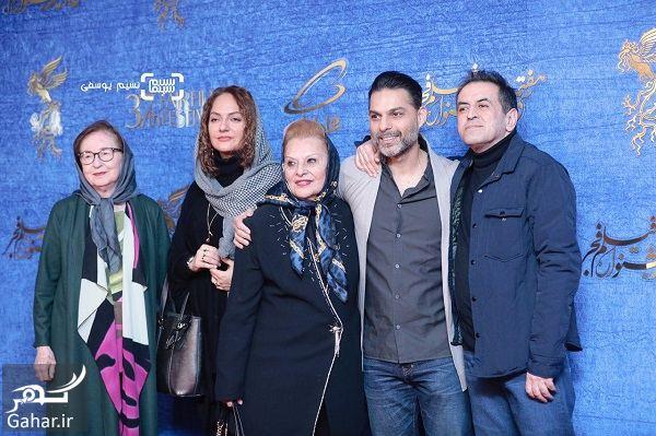 274898 Gahar ir عکسهای بازیگران در اکران فیلم ناگهان درخت در جشنواره فجر 97