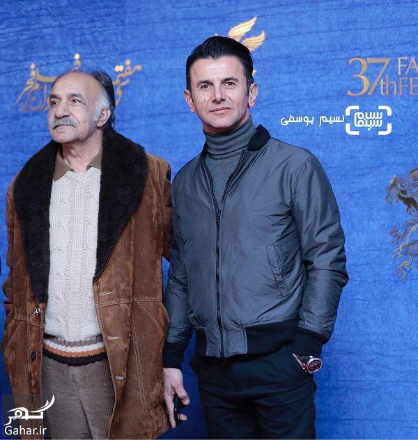 322934 Gahar ir عکسهای بازیگران در اکران فیلم در خونگاه در جشنواره فیلم فجر 97