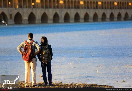 364785 Gahar ir عکسهای زیبا از شور و شوق مردم اصفهان کنار زاینده رود بهمن 97