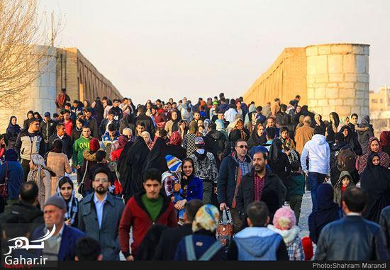 550688 Gahar ir عکسهای زیبا از شور و شوق مردم اصفهان کنار زاینده رود بهمن 97