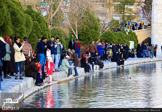 800143 Gahar ir عکسهای زیبا از شور و شوق مردم اصفهان کنار زاینده رود بهمن 97