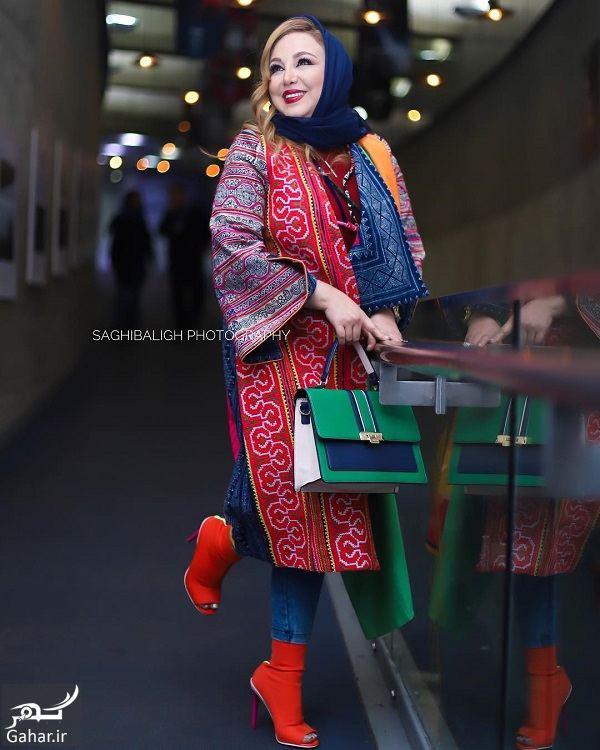 تیپ متفاوت و عجیب بهنوش بختیاری در جشنواره فیلم فجر ۹۷, جدید 1400 -گهر