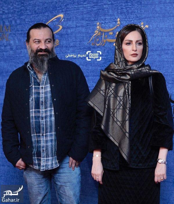 862513 Gahar ir عکسهای بازیگران در اکران فیلم ناگهان درخت در جشنواره فجر 97