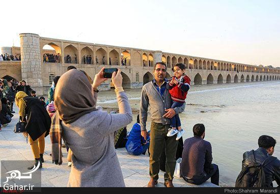 951713 Gahar ir عکسهای زیبا از شور و شوق مردم اصفهان کنار زاینده رود بهمن 97