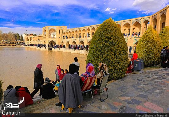 959294 Gahar ir عکسهای زیبا از شور و شوق مردم اصفهان کنار زاینده رود بهمن 97