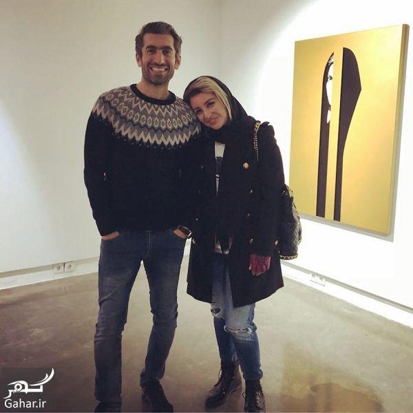 عکس عاشقانه مجتبی جباری و همسرش, جدید 99 -گهر