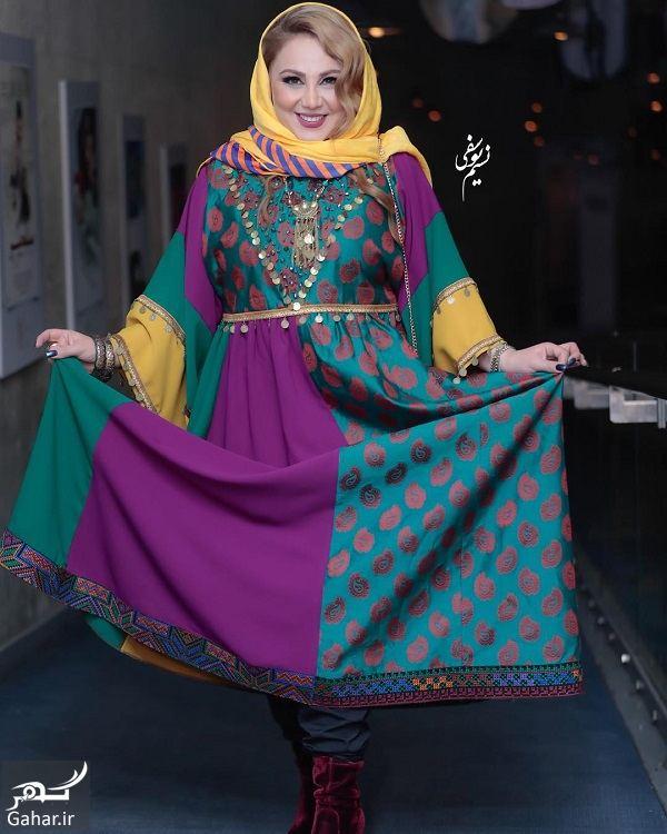 983377 Gahar ir استایل سنتی بهنوش بختیاری در جشنواره فجر 97