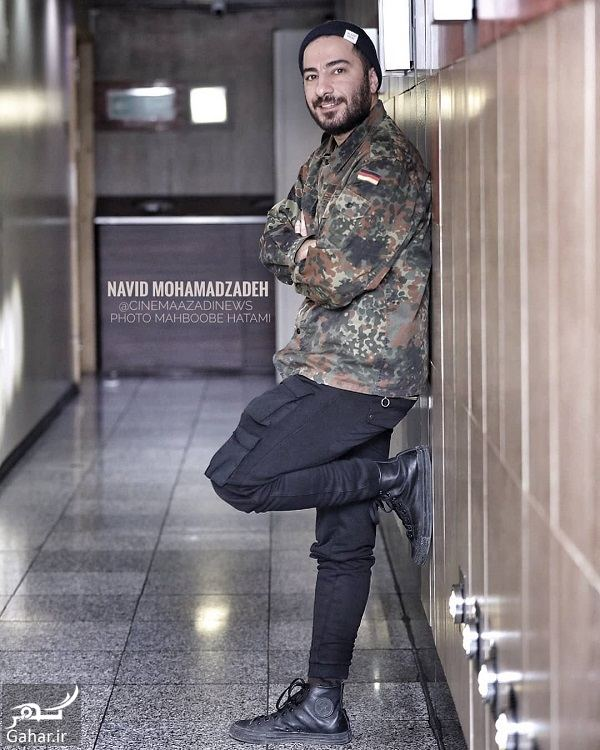 تیپ عجیب نوید محمدزاده در جشنواره فجر ۹۷, جدید 1400 -گهر