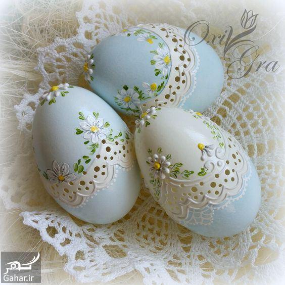 تزیین تخم مرغ هفت سین ، مدل رنگ کردن تخم مرغ عید / ۱۲ عکس