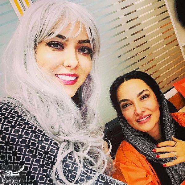 914248 Gahar ir عکسهای لیلا اوتادی با گریم متفاوت در کنار خواهرش