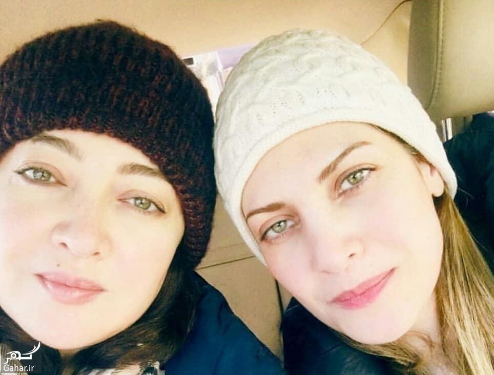 عکس متفاوت و دیدنی نیکی کریمی و خواهرش, جدید 1400 -گهر