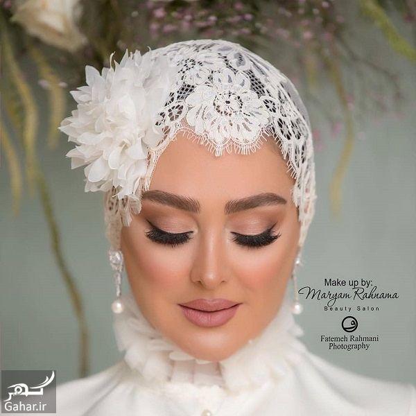 376442 Gahar ir عکسهای میکاپ مراسم عروسی الهام حمیدی