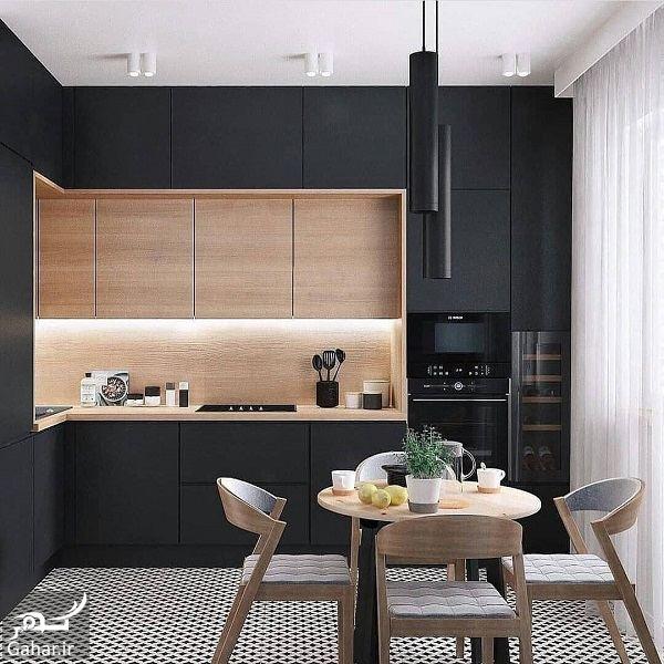505517 Gahar ir مدل جدید آشپزخانه 2019 با کابینت شیک و طراحی لاکچری (10 مدل)