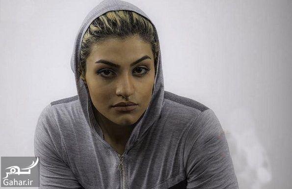 901198 Gahar ir بیوگرافی صدف خادم بوکسور + عکس های صدف خادم