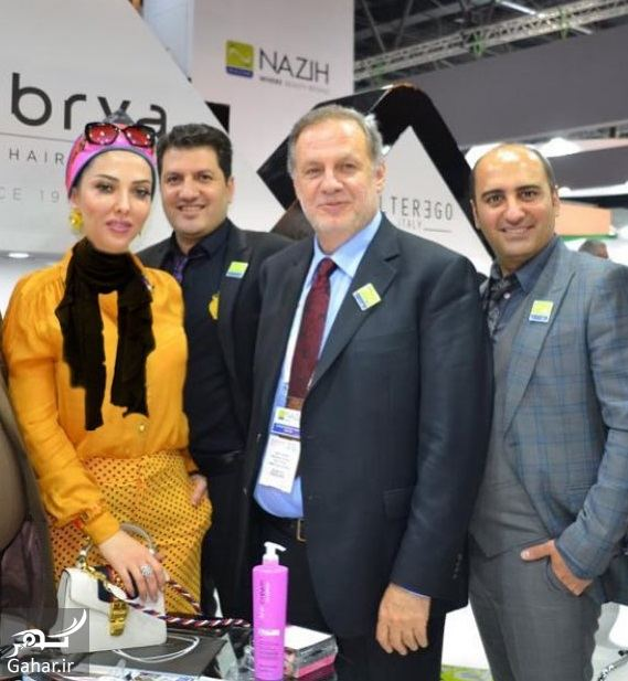 استایل لیلا اوتادی در افتتاحیه برند آرایشی در دبی / عکس, جدید 1400 -گهر