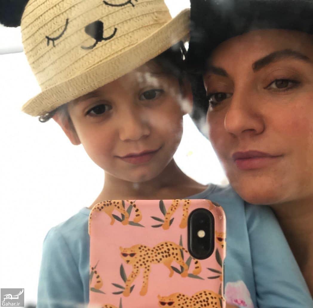 246001 Gahar ir عکس جالب مهناز افشار و دخترش در تولد ۴ سالگی لیانا