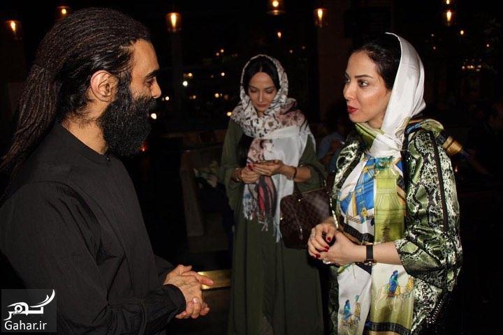 303239 Gahar ir عکسهای لیلا اوتادی در مراسم افطاری کنار همکارانش