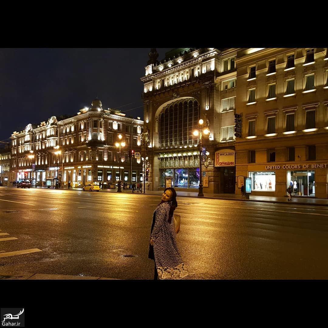 عکسهای سپیده خداوردی در روسیه, جدید 1400 -گهر