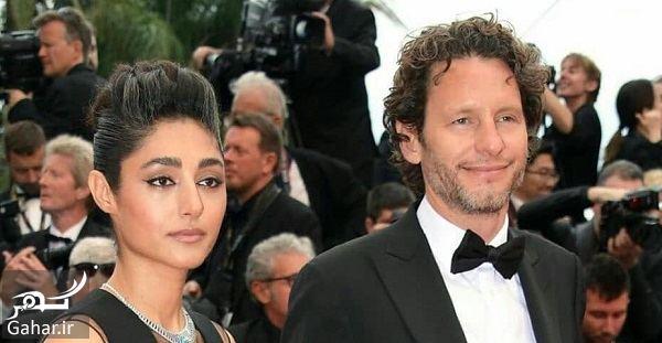 420102 Gahar ir عکسهای گلشیفته فراهانی و همسرش در جشنواره کن 2019