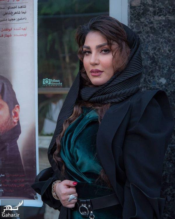 عکسهای سحر نظام دوست در اکران سقف مات + بیوگرافی سحر نظام دوست, جدید 1400 -گهر