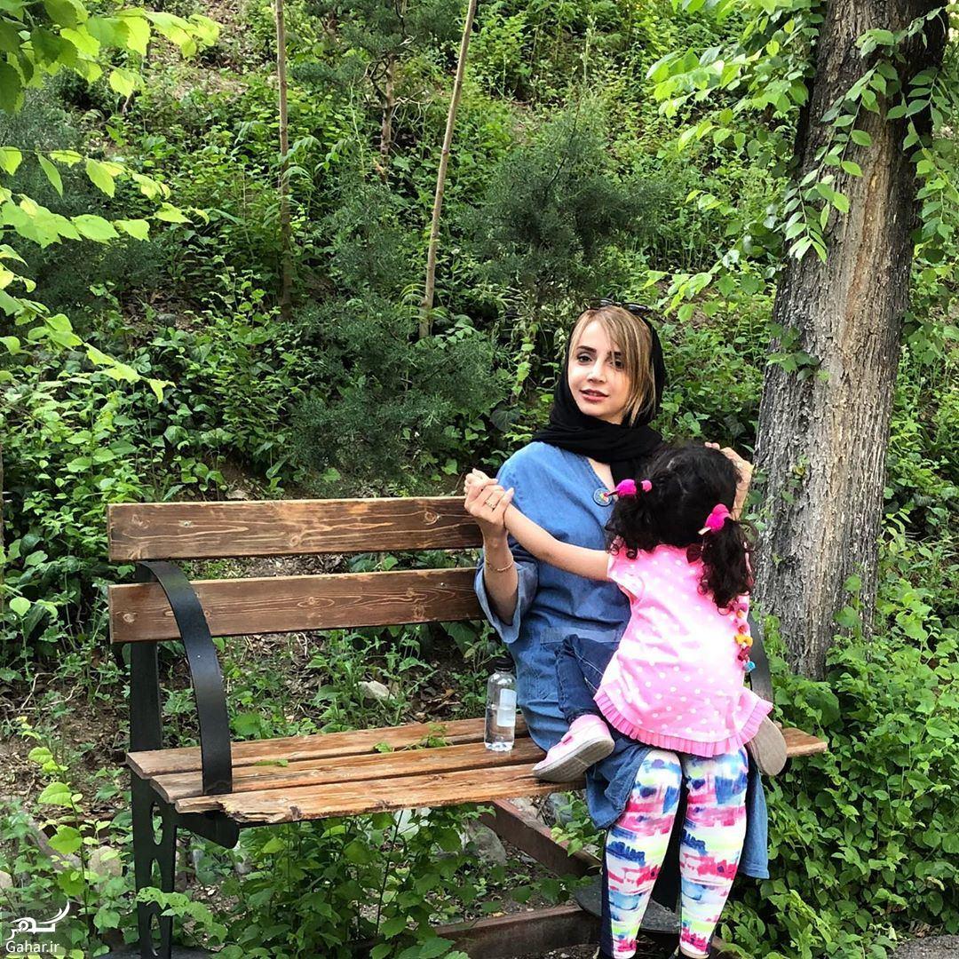 683395 Gahar ir عکس دونفره شبنم قلی خانی و دخترش در طبیعت