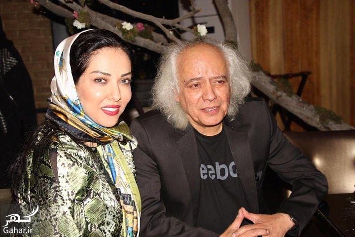 753076 Gahar ir عکسهای لیلا اوتادی در مراسم افطاری کنار همکارانش