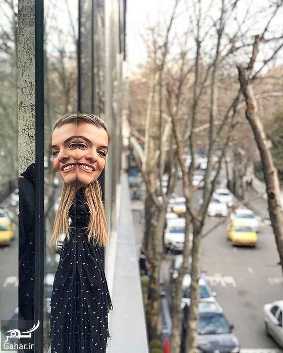 عکسهای منتخب دنیا مدنی بازیگر جوان ایرانی (دختر رویا تیموریان ), جدید 1400 -گهر
