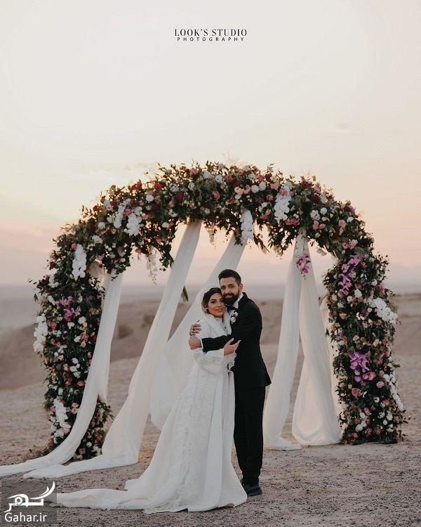 071758 Gahar ir عکسهای آتلیه عروسی محسن افشانی و همسرش