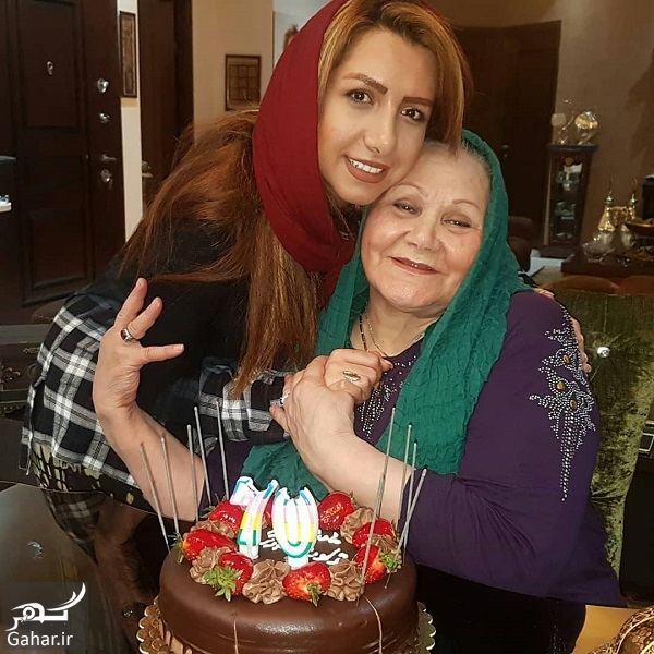 431812 Gahar ir عکسهای نسرین مقانلو و خواهرش در تولد مادرشان