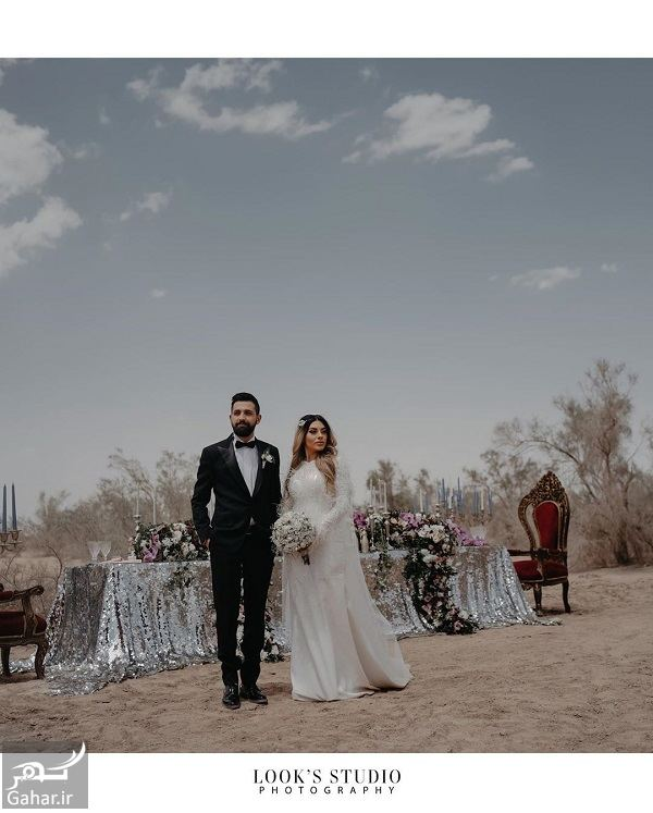 623198 Gahar ir عکسهای آتلیه عروسی محسن افشانی و همسرش