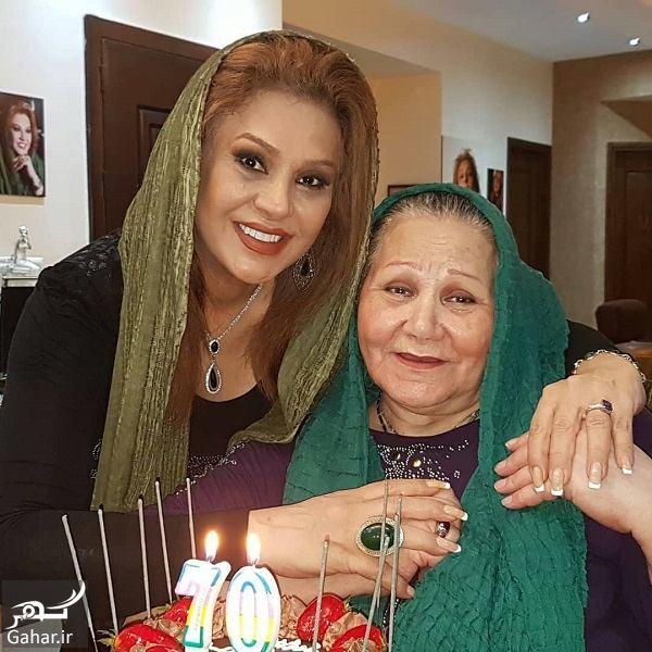 634615 Gahar ir عکسهای نسرین مقانلو و خواهرش در تولد مادرشان