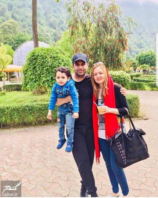 650971 Gahar ir عکس جدید حمید عسکری و همسرش به همراه فرزندشان