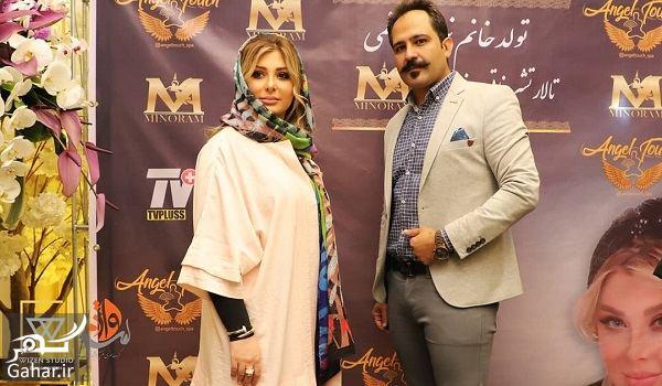 عکسهای جشن تولد نیوشا ضیغمی با حضور بازیگران, جدید 1400 -گهر
