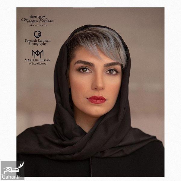 استایل متفاوت و دیدنی الیکا عبدالرزاقی در جشن حافظ ۹۸ / ۷ عکس, جدید 1400 -گهر