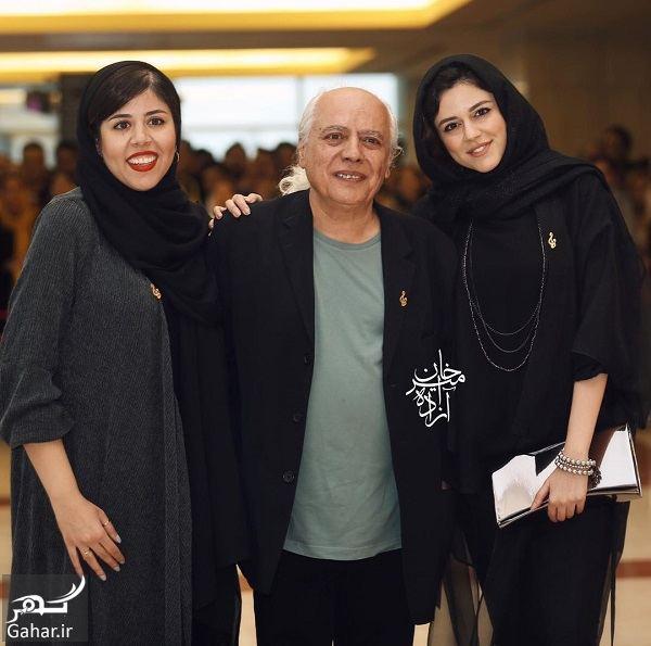 عکس ماهور الوند و خواهرش در نوزدهمین جشن حافظ, جدید 1400 -گهر