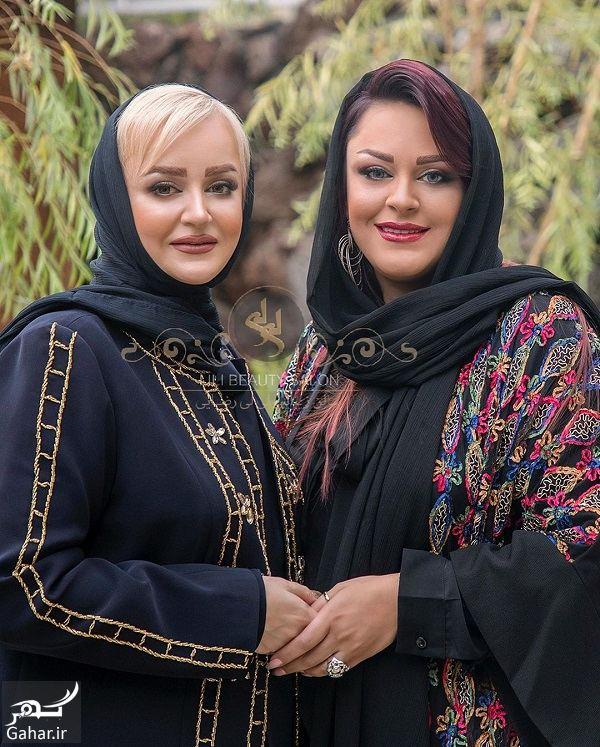 عکسی از نعیمه نظام دوست و خواهرش, جدید 1400 -گهر