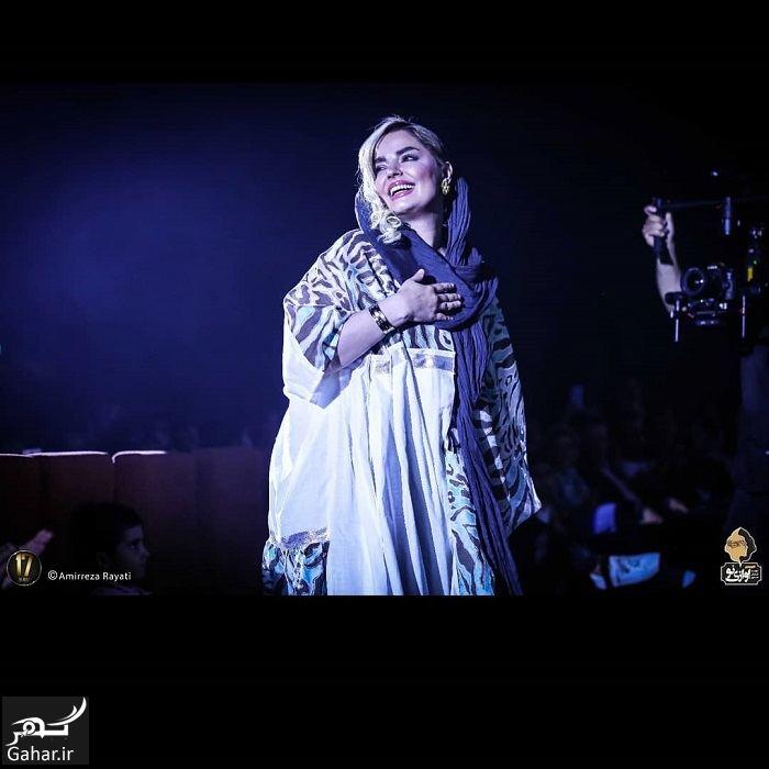 عکسهای جدید سپیده خداوردی در کنسرت سینا درخشنده, جدید 1400 -گهر