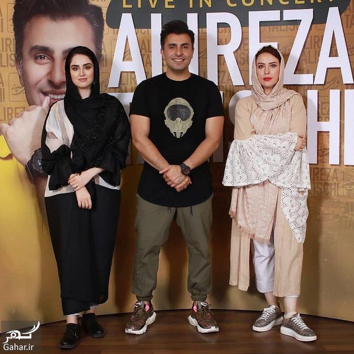 عکس هانیه غلامی و مادرش در کنسرت علیرضا طلیسچی, جدید 1400 -گهر