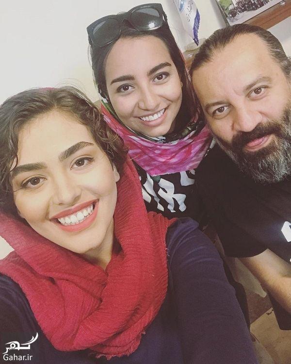 سلفی ریحانه پارسا و مهراب قاسم خانی و دخترش, جدید 1400 -گهر