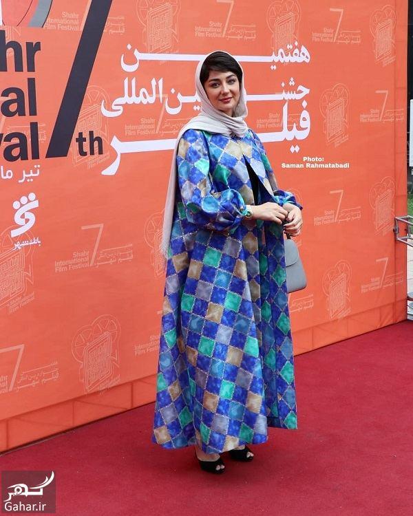 عکسهای متفاوت ویدا جوان در اختتامیه جشنواره فیلم شهر, جدید 1400 -گهر