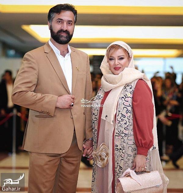 عکسهای بهاره رهنما و همسرش در جشن حافظ ۹۸, جدید 1400 -گهر