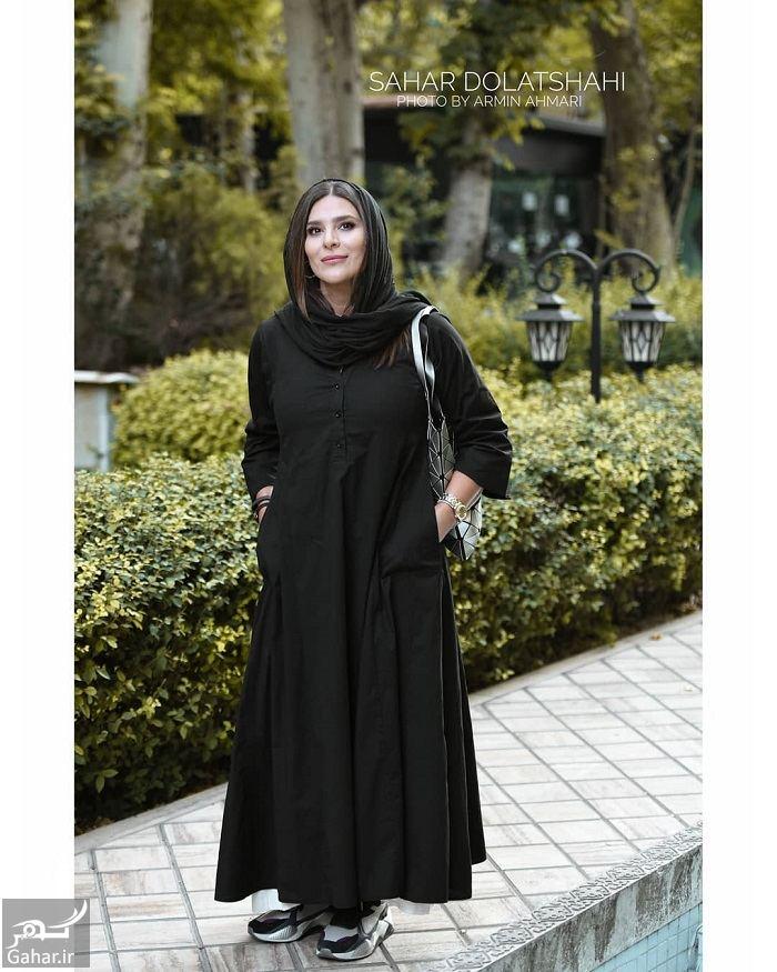 عکسهای سحر دولتشاهی در اکران خصوصی فیلم رضا, جدید 1400 -گهر