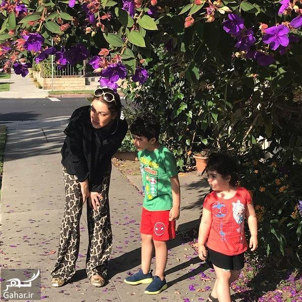 717408 Gahar ir عکس جذاب شیلا خداداد و دختر و پسرش