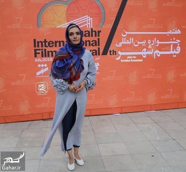 عکسهای میترا حجار در اختتامیه جشنواره فیلم شهر, جدید 1400 -گهر